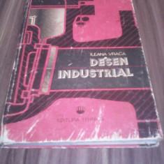 DESEN INDUSTRIAL-ILEANA VANCA EDITURA TEHNICA 1984
