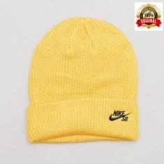 Fes Nike SB Fisherman - Original - Unisex Adult - 100% Acrylic - Detalii anunt - Fes Barbati Nike, Marime: Marime universala, Culoare: Galben