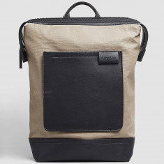 Ghiozdan CALVIN KLEIN Backpack - Geanta, Rucsac Barbati - 100% AUTENTIC, Culoare: Maro, Marime: Marime universala