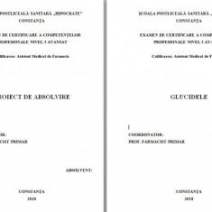 LUCRARE DE LICENTA AMF – GLUCIDELE (1) - Carte Farmacologie