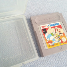 Joc Asterix Obelix Nintendo Game Boy 1995 Made in Japan colectie caseta discheta - Jocuri Game Boy