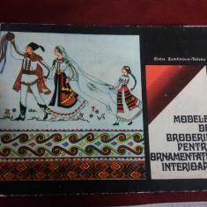 ELVIRA ZAMFIRESCU TALIANU - MODELE DE BRODERIE PENTRU ORNAMENTATIE INTERIOARA - Carte traditii populare