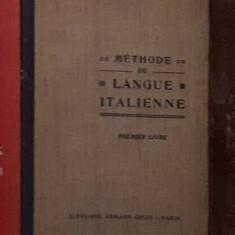 Méthode de langue italienne - Henry Massoul et Giovanni Mazzoni - Curs Limba Italiana Altele