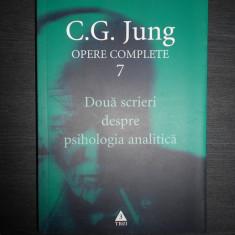 C. G. JUNG - DOUA SCRIERI DESPRE PSIHOLOGIA ANALITICA