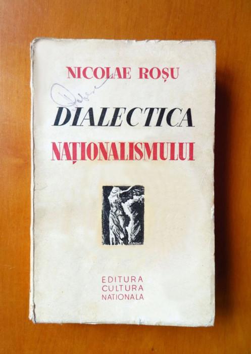 NICOLAE ROSU (scriitor legionar) - Dialectica nationalismului, 1935, princeps