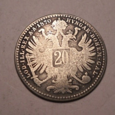 20 kreuzer 1870, Europa