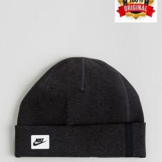 Fes Nike Tab Logo Negru - Original - Unisex Adult - Detalii in anunt - Fes Barbati Nike, Marime: Marime universala