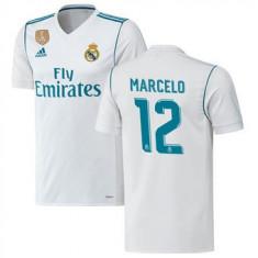 TRICOU MARCELO REAL MADRID SEZON 2017-2018 MARIMI XS, S, M, L, XL - Echipament fotbal, Marime: S, Tricou fotbal