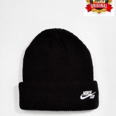 Fes Nike SB Fisherman - Original - Unisex Adult - 100% Acrylic - Detalii anunt - Fes Barbati Nike, Marime: Marime universala, Culoare: Negru