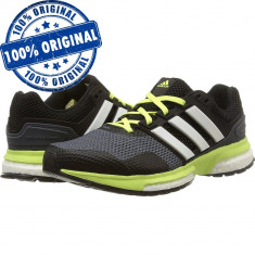 Pantofi sport Adidas Response Boost 2 pentru femei - adidasi originali - Adidasi dama, Culoare: Negru, Marime: 40, 39 1/3, Textil