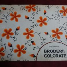 MARIA PARASCHIVOIU - BRODERII COLORATE - Carte traditii populare