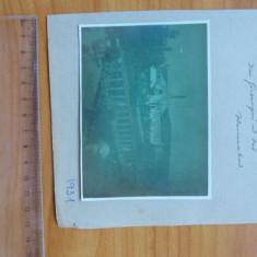 Fotografie originala 1931 2 buc Ocna Sibiu din album vechi sasesc