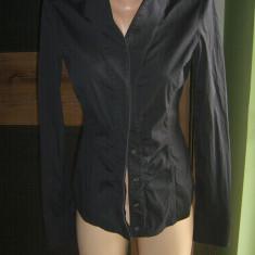 Camasa FABULOASA GUCCI originala. Unica ! Marimea S - Camasa dama, Marime: 38, Culoare: Negru