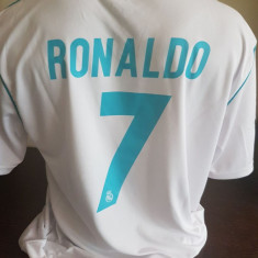 TRICOU RONALDO REAL MADRID SEZON 2017-2018 MARIMI XS, S, M, L, XL - Echipament fotbal, Marime: L, M, S, Tricou fotbal
