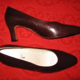 Pantofi piele naturala Jean P. Spania Mar 42/ 43