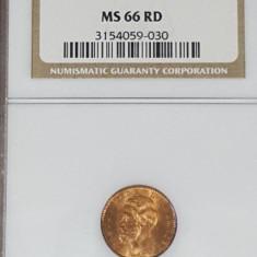 NGC 1 ban 1900 MS 66 RD - Moneda Romania