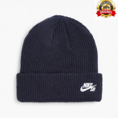 Fes Nike SB Fisherman - Original - Unisex Adult - 100% Acrylic - Detalii anunt - Fes Barbati Nike, Marime: Marime universala, Culoare: Bleumarin