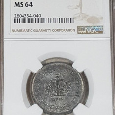 NGC 20 lei 1944 MS 64 - Moneda Romania