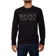 Pulover HUGO BOSS - Pulover barbati, Marime: XXL, Culoare: Negru, La baza gatului, Bumbac