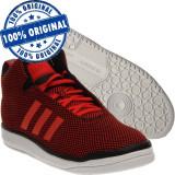 Pantofi sport Adidas Originals Veritas Mid pentru femei - adidasi originali, 36, 36 2/3, 39 1/3, Rosu, Textil