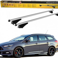Bare portbagaj dedicate Ford Focus Break 2010-2017 din aluminiu cu sistem antifurt si cheie