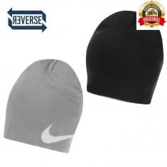Fes Nike Reverse - Original - Unisex Adult - 100% ACrylic - Detalii in anunt - Fes Barbati Nike, Marime: Marime universala, Culoare: Negru