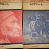 Infernul ( traducere Eta Boeriu ) 2 vol./ an 1971/155+206pag.- Dante