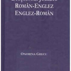 Dictionar juridic roman-englez, englez-roman - Autor(i): Onorina Grecu