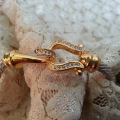 Frumoasa Bratara auriu si argintiu - Bratara Fashion