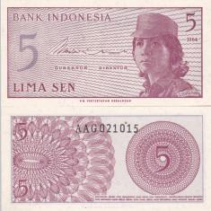 INDONEZIA 10 sen 1964 UNC!!! - bancnota asia