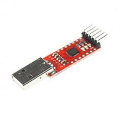 CP2102 adaptor USB serial TTL UART 6 PIN converter 3.3V 5V + 6 cabluri Female-F