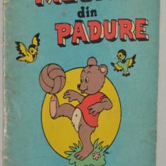 Carte veche de colorat -Meciul din padure 1971 - Carte de colorat