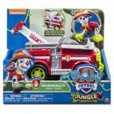 Jucarie Paw Patrol, Marshall Jungle Camion - Masinuta