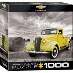 Puzzle 1000 piese 1937 Chevy Pickup American Farmer