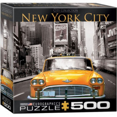 Puzzle 500 piese New York City Yellow Cab