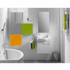 Cersanit, Nano Colours, masca lavoar, 50 cm, alb lucios - Corp baie