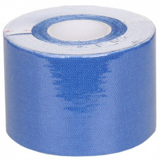 Banda Kinesio Tape 5cm x 5m albastru inchis