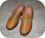 Pantofi barbatesti din piele naturala_marimea 27,5 (43), 37.5, Bej, Piele naturala