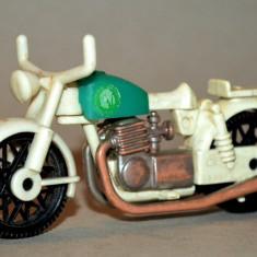 Macheta Geobra motocicleta - 1974 - Macheta auto Matchbox, 1:60