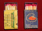1965 Congresul si Expozitia de Apicultura Bucuresti - cutii chibrituri romanesti
