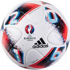 Minge fotbal Adidas Euro 2016 Fracas - oficiala de joc, alb, 5, Marime: 5