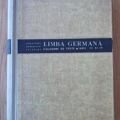 LIMBA GERMANA- CULEGERE DE TEXTE- MINISTERUL COMERTULUI EXTERIOR, anii III, IV - Curs Limba Germana