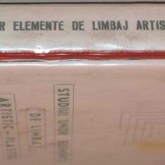 Lot 120 diapozitive -Studiul unor elemente de limbaj artistic - plastic