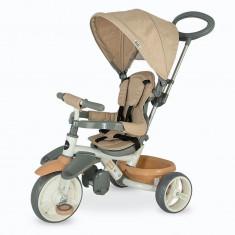Tricicleta Coccolle Evo Bej - Tricicleta copii