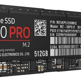 NVMe SSD Samsung 960 Pro Series 512gb Pci Express X4 M.2 2280