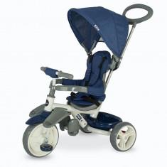 Tricicleta Coccolle Evo Albastru - Tricicleta copii