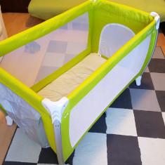 Patut pliant pentru copii Inglesina LODGE (pat voiaj pentru bebelusi) - Patut pliant bebelusi Inglesina, Alte dimensiuni, Verde