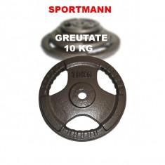 Greutate haltera 10 kg/31mm Hammerton Sportmann, Discuri greutati