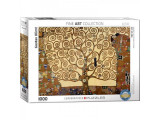 Puzzle 1000 piese Tree of Life-Gustav Klimt