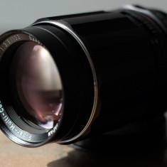 Obiectiv foto 135mm/3.5 Pentax Takumar m42 DSLR Canon Nikon Sony NEX Olympus - Obiectiv DSLR Pentax, Tele, Manual focus